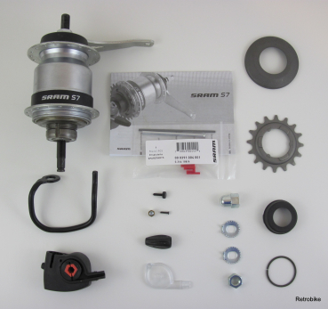 Sram S7 Getriebenabe MH 7215  ab September 2005 als Set